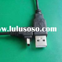 Up Angle/Down Angle 90 Degree MINI USB to USB Cable up to 10 meters