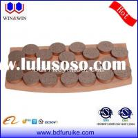 brake pad, sintered brake pad, friction material, wind turbine