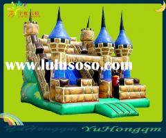The Hot Sale Inflatable Castle Combo (with sldie and bouncer)