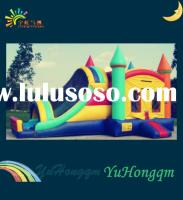 Kids Inflatable Castle with Slide and Bouncer