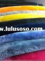 Double Face Sheepskin Lining for Shoes&Garments sheepskin material fabric