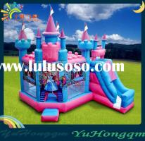 Inflatable Castle with Slide and Bouncer for Kids