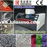 Co2 laser cutting engraving machine for fabric leather