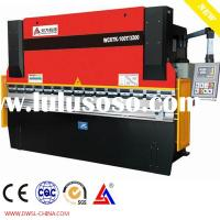 WC67Y 80T2500 Hydraulic press brake /bending machine sheet metal press brake/ shearing machine