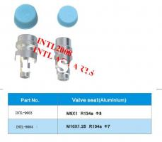 R134a Auto air conditioner Aluminum valve seat hose fittings
