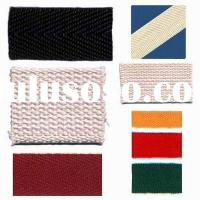 100% cotton twill tape & cotton webbing tape