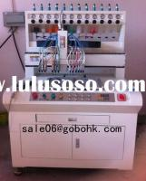 new type silicone wristband making machine