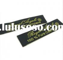 customized taffeta woven Labels for clothing