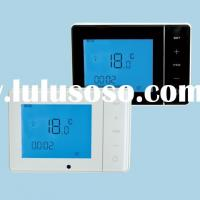 Weekly Program Electric Floor Heating Digital Room Thermostat with Touch Screen