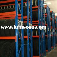 Heavy duty warehouse storage drive through pallet racking