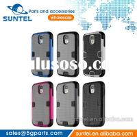 New stylish PC metal armour phone case for Samsung galaxy s4