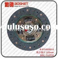 8-97143203-0  8-94453749-0 Disc Clutch For Isuzu 4JA1