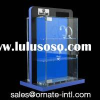 wood acrylic watch display case,watch display stand,watch exhibit showcase