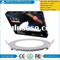 Hotel Dimmable 1600Lm 22W Round LED Panel Light Warm White 2800K,AC220V, CE RoHS