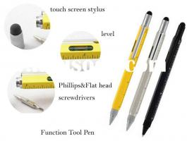 2014 NEWEST---one touch screen 9 functions tool pen
