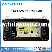 ZESTECH Wholesales oem double din car radio for bmw e46 gps navigation satellite radio