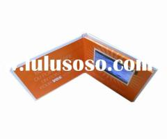 LCD Invitation Video Greeting Card for Souvenir and Promotion Gifts