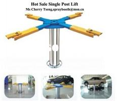 Single Post Auto Car Lift,Hot SALE!!!Hydraulic Single Post Lift