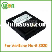 Brand new replacement battery for verifone nurit 8020 POS battery high quality