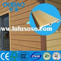 CE SGS ISO FSC certified formaldehyde-free wood plastic composite wpc wall cladding