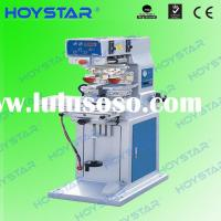 Vertical 2 Color pad printing equipment for promotional items
