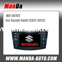 double din car dvd gps for Suzuki Swift (2011-2012) in-dash audio car multimedia navigation system