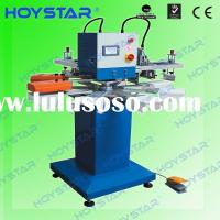 2 color Rapid screen printing machine for t shirt neck label