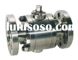 Forged Steel Metal To Metal Floating Ball Valve