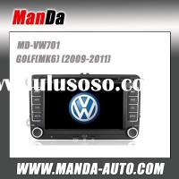 Manda 2 din car dvd gps for VW GOLF (MK6) (2009 2010 2011)/ SHARAN in-dash car dvd player auto parts