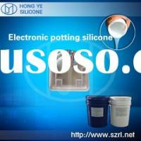 Electronic potting compound silicone rubber: