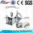 400 Automatic Food Paper Bag Making Machine