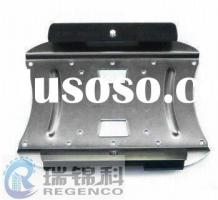 Metal Stamping of LCD TV Bracket, Made of Steel and Nickel Plating Finish