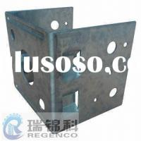 Metal Stamping Bracket, Made of Steel with Zinc Plating in Surface