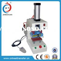 China small size pneumatic single station mark hot foil stamping machine