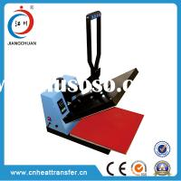 China small size high pressure heat press fabric fusing machine