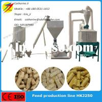 CE Approved 1-2t poultry feed processing equipment