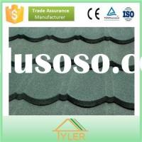 Most popular building materials stone coated steel roofing tile
