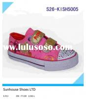 canvas shoes for girls Girl Vulcanized Canvas Shoes