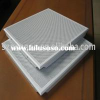 Perforated Aluminum Metal Clip-in Type Ceiling Panel Tiles