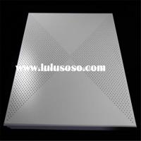 Square Ceiling Tile Shape false ceiling desperforated aluminum ceiling false ceiling
