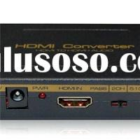 HDMI To HDMI With Audio Converter