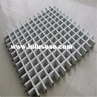 Decorative Aluminum Ceiling Tiles Open Cell
