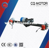 Rear Axle Disc/drum Brake Drive Gear Transmission for Electric Cars