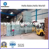 10-14t/h automatic waste paper baling machine for sales