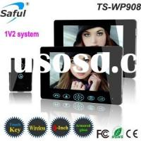 safulTS-WP908 1V2 2.4GHz Digital 9 inch Wireless Video Door Phone