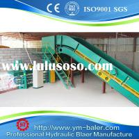 100T High capacity waste paper baling machine cardboard compactor