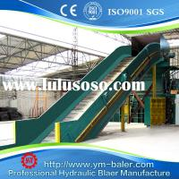 Full automatic baling press machine for waste paper cardboard waste