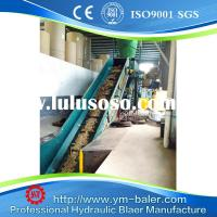 100T Fully Automatic Cyclone Type Baling Machine with Conveyors