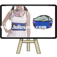 Wholesale magnetic back support belt velcro heating waist belt