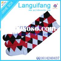 fashion women socks cotton socks argyle knee socks for fashion women